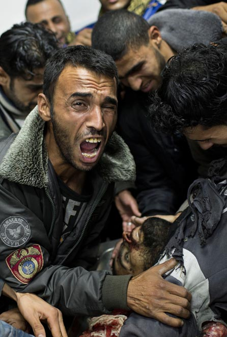 Israel - Conflito em Gaza - foto: (Bernat Armangue / Associated Press)